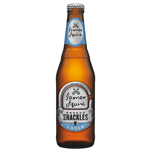 James Squire Broken Shackles Lager 345mL 4.6%