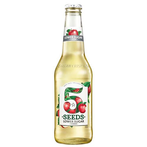 Tooheys 5 Seeds Lower Sugar Apple Cider Bottles 345mL 5%