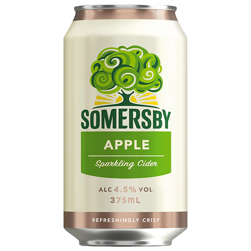 Somersby Cider Apple Cans 10x375mL 4.5%
