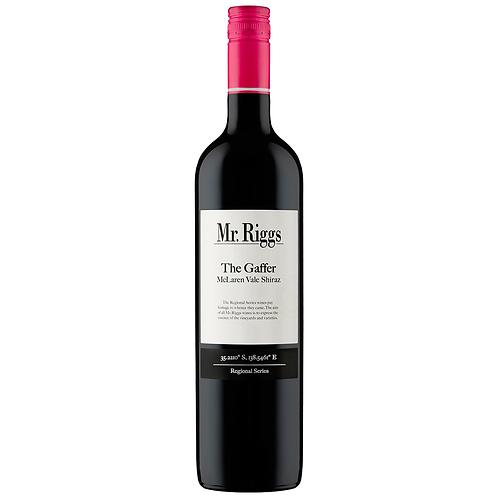 Mr Riggs The Gaffer Shiraz 750mL 14%