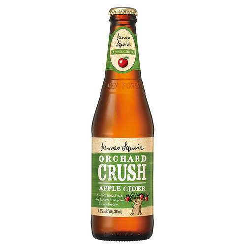 James Squire Orchard Crush Apple Cider Bottles 345mL 4.8%