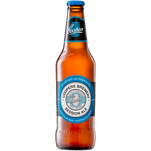 Coopers Session Ale Bottles 24x375mL 4.2%
