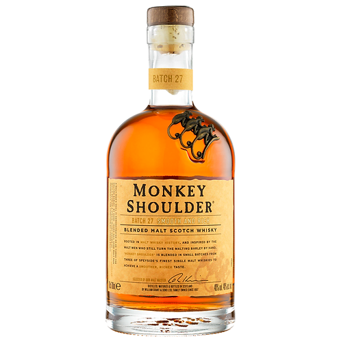 Monkey Shoulder Blended Scotch Whisky 700mL 40%