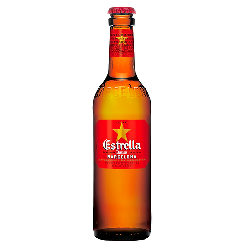 Estrella Damm Lager Bottles 330mL 4.6%