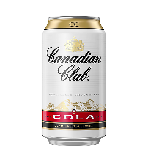 Canadian Club & Cola Cans 6x375mL 4.8%