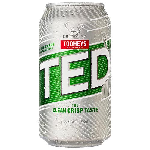 Tooheys Extra Dry Cans 30x375mL 4.2%