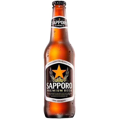 Sapporo Bottles 24x345mL 5.0%