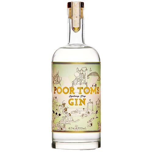 Poor Toms Sydney Dry Gin 700mL 41.3%