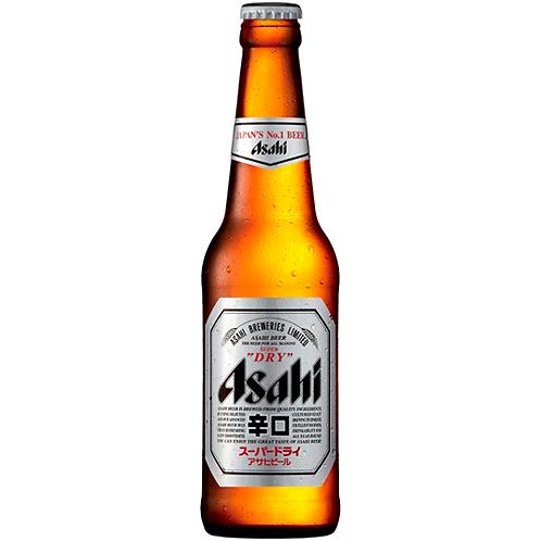 Asahi Super Dry Bottles 24x330mL 5.0%