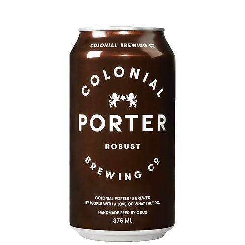 Colonial Brewing Co. Porter Cans 375mL 6%