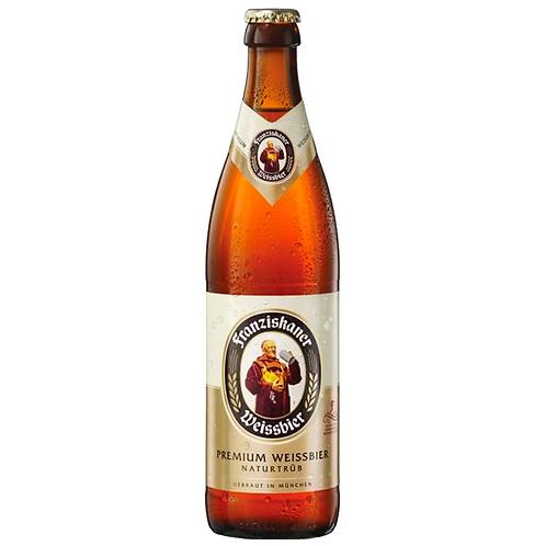 Franziskaner Hefe Weissbier Bottles 500mL 5%