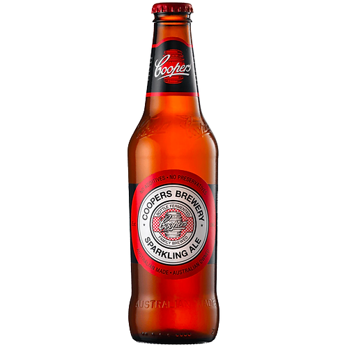 Coopers Sparkling Ale Bottles 24x375mL 5.8%