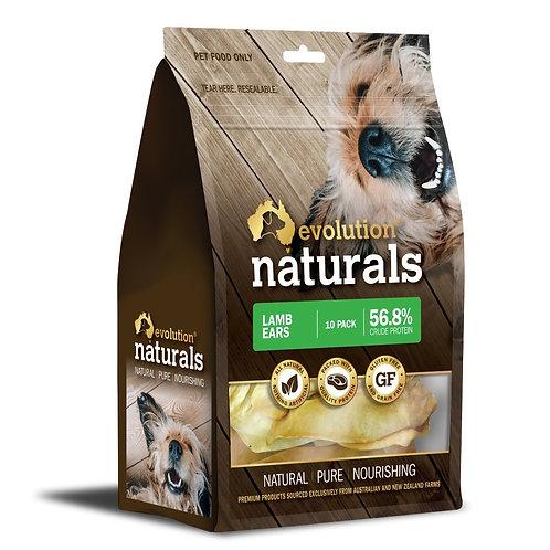 Evolution  Naturals Lamb Ears 10 Pack