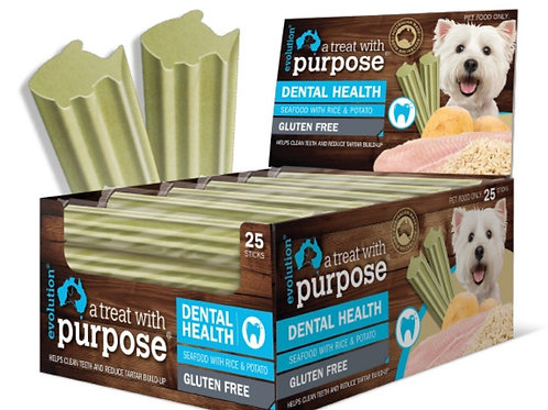 Evolution dental chews - Seafood with Rice and Potato- Pack of 5