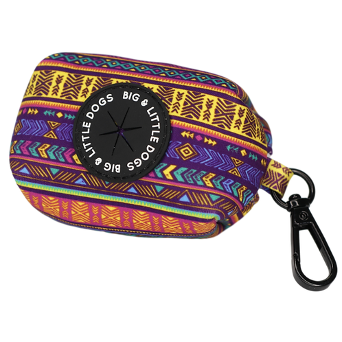 Aztec Dog Poop Bag Holder