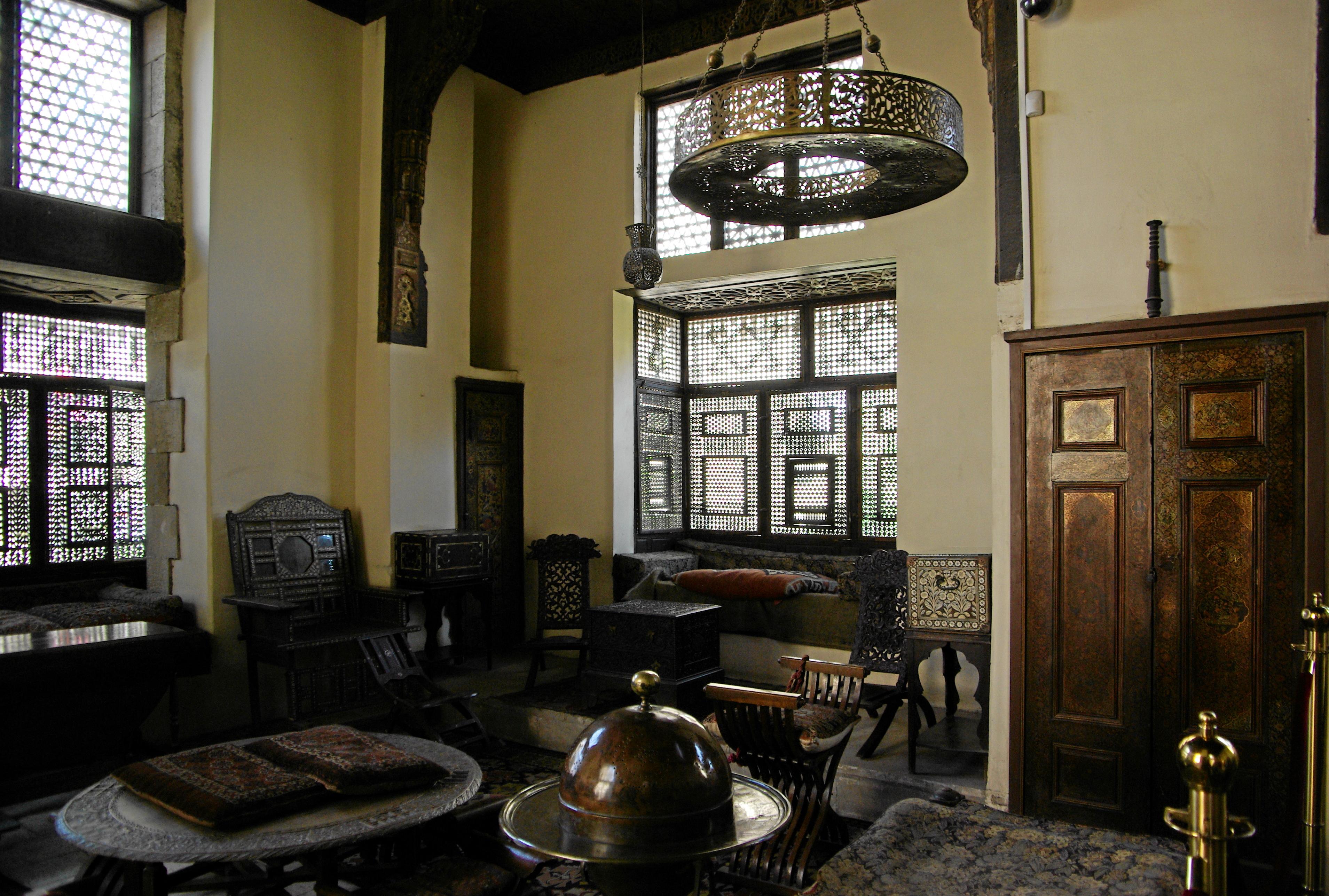 Kairo_ayer_Anderson_Museum_BW_2