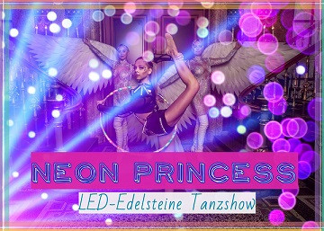 NEON-Prinzess Gymnastik-Live-Act 2020 mit LED-Band
