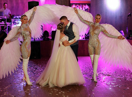 LED-Hochzeitsshow: eine perfekte Überraschung für das Hochzeitspaar