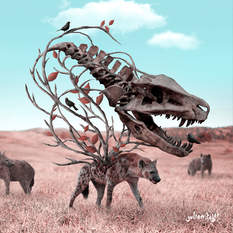 Make it Prehistoric, Julien Tabet, Digital, 2019