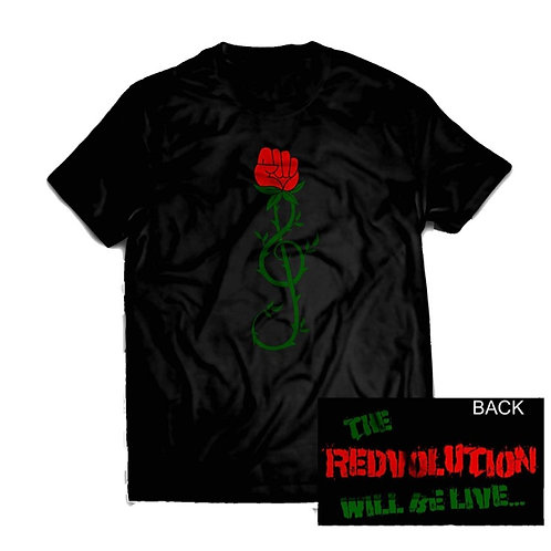 """REDvolution"" Tee- Black"