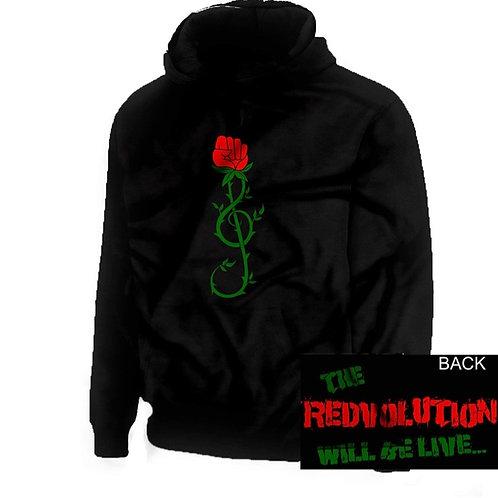 """REDvolution"" Hoody - Black"