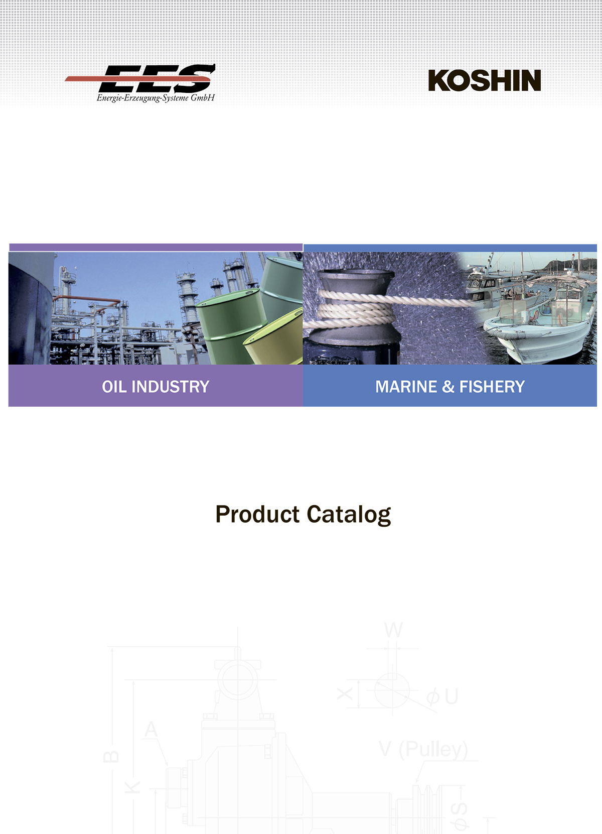 EES Koshin Industrial and Marine Product Catalog 2012 auf English (in English)