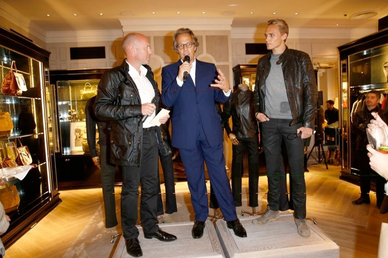 BELSTAFF Goodwood launch
