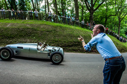 The Auto Union at Shelsley Walsh