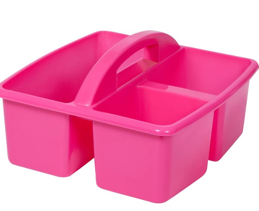 Small Plastic Caddy magenta