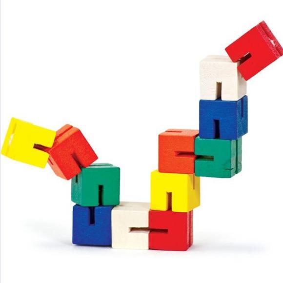 Twist-and-lock-blocks