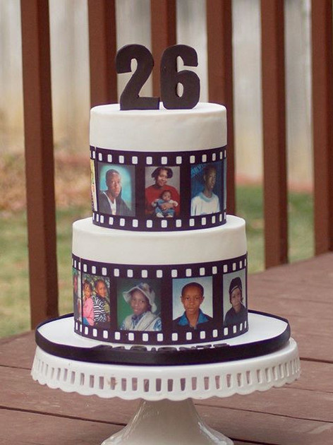 Photo cake for Darionte! #thehappycaker