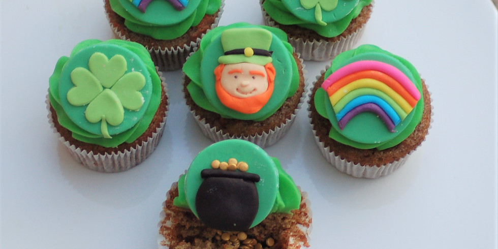 Mommy and me - St.Patricks Day Cupcakes