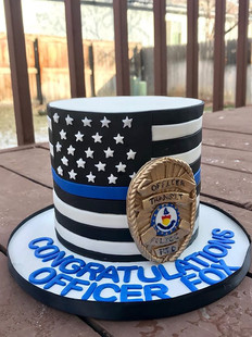 For Officer Fox who is graduating today!