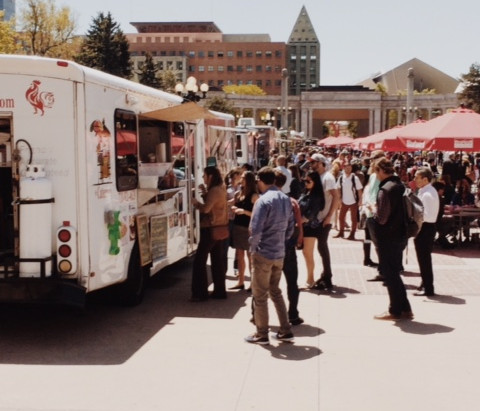 Denver Happenings – Food Trucks at Civic Center