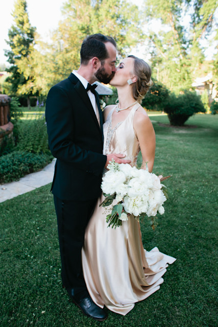 A Great Gatsby Inspired Wedding at The Avery House