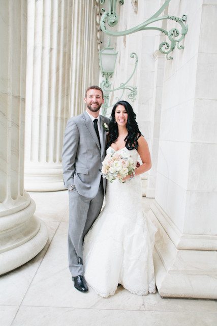 Marissa and Corey's Downtown Wedding