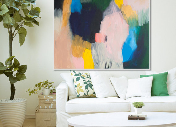 Affordable Paintings on Etsy