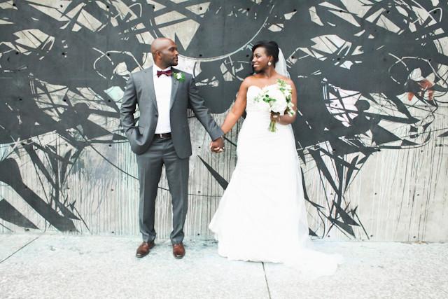 Seth and Kadija's Modern Denver Wedding