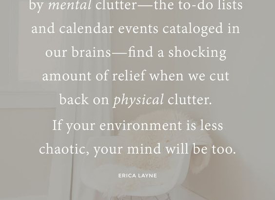 How to DeClutter-For Good