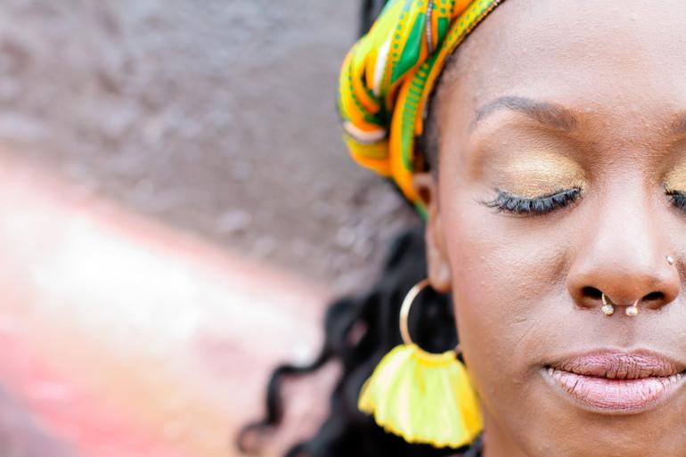 An African Inspired Engagement Shoot