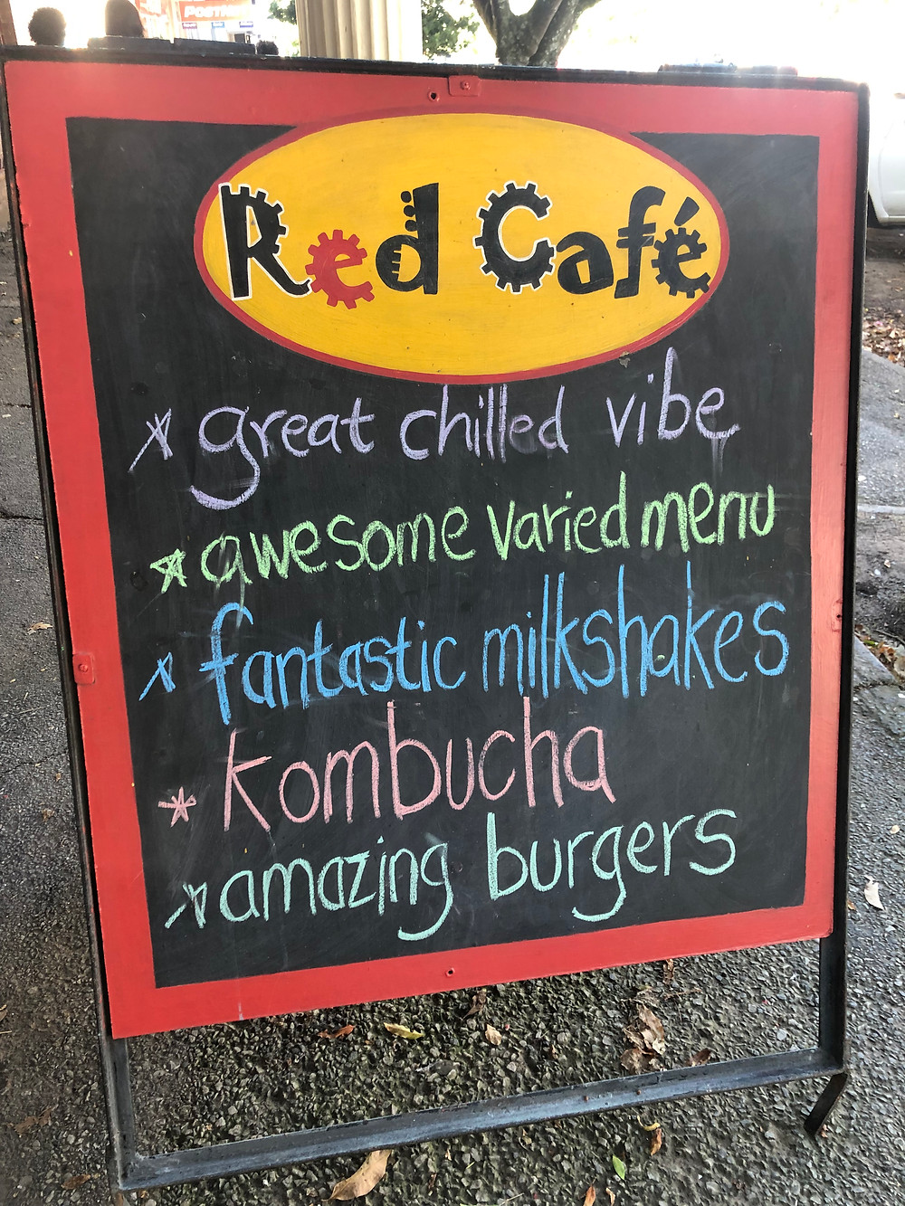 Details of what to expect at Red Cafe