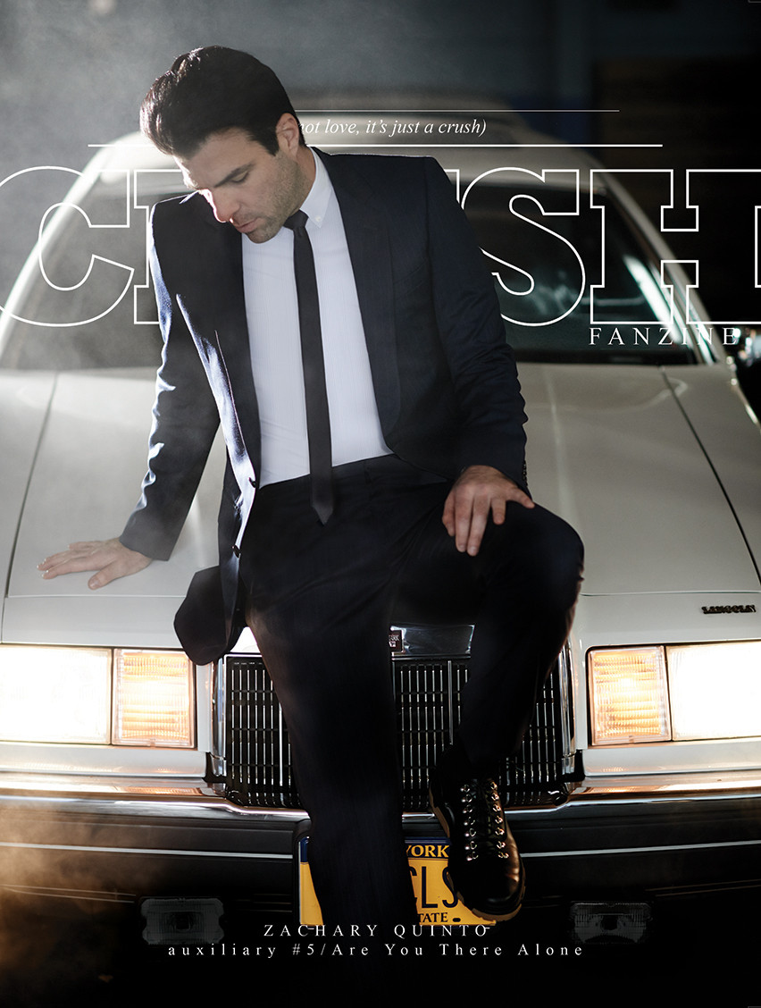 Zachery Quinto - Crush Fanzine