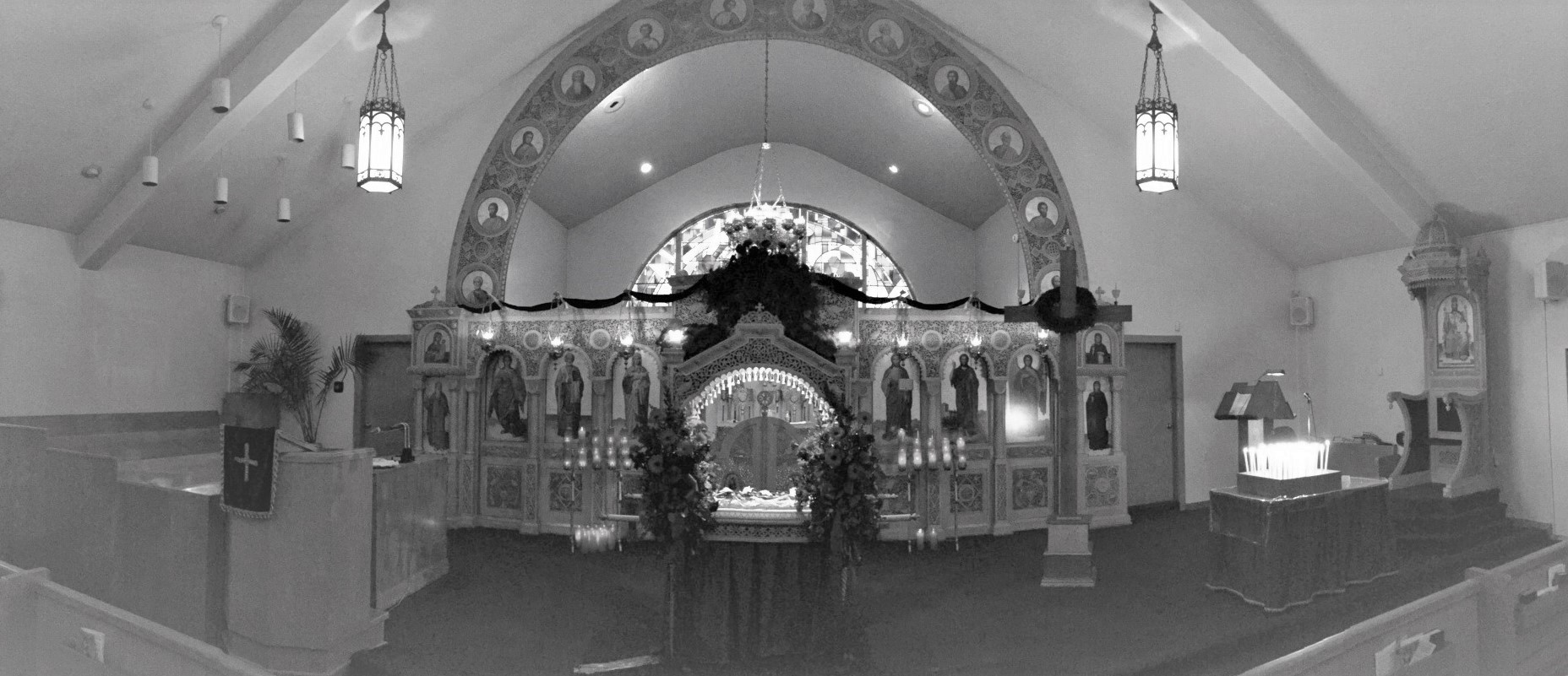 st. nicholas inside pic website bw