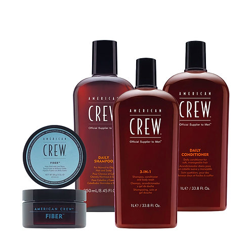 American Crew Essentials - Fiber