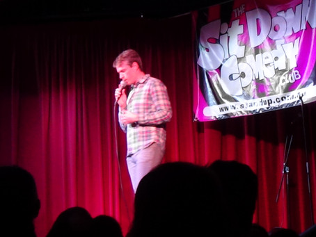 My First Time Doing Standup Comedy