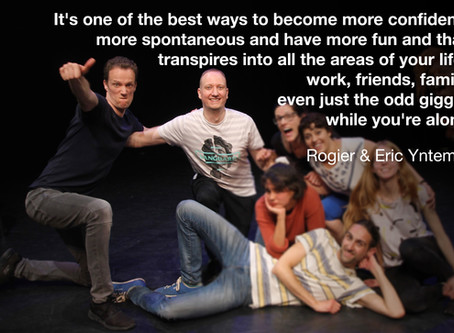 Students of easylaughs - Eric & Rogier Yntema