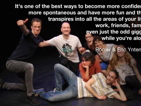 Students of easylaughs - Eric & Rogier Yntema
