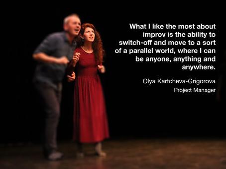 Students of easylaughs - Olya Kartcheva-Grigorova