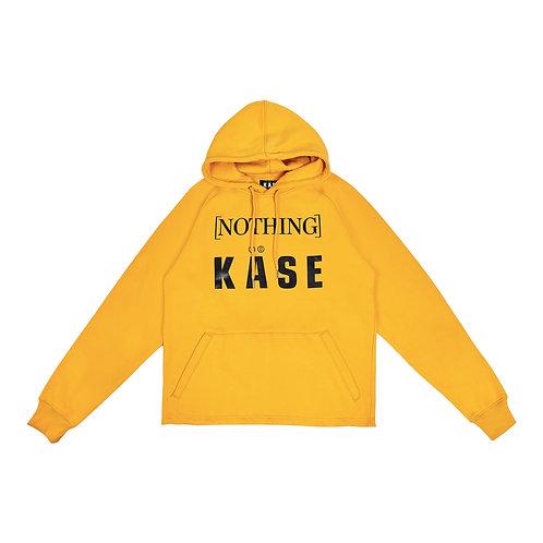 [NOTHING] X KÄSE®  AMBER YELLOW HOODIE