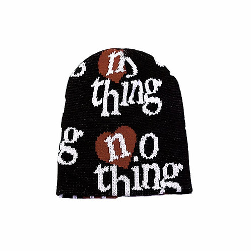 RED ILUV NOTHING BEANIE